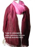 Cashmere Gauze Shawl Shaded Img0619