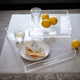 High Quality Customized Size Clear Acrylic Tray for Home