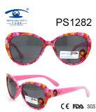 Popular Cartoon Colorful Kid Plastic Sunglasses (PS1282)