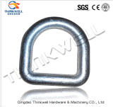 Drop Forged Galvanized Steel Weldless Ring/ D-Ring