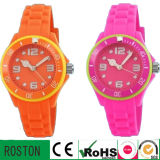 New Cheap Silicon Rubber Colorful Watch