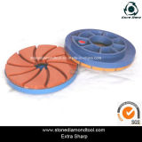 100mm Edge Polishing Pads Abrasion Resistant Stone Grinding Chamfering Disc