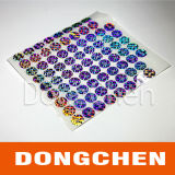 Hot Sale Holographic Gift Wrapping Sticker Label
