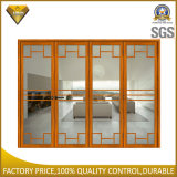 Aluminum Bi Fold Door with Double Glazing for TV Room (60 series)