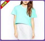 Fashion Sexy Cotton Print T-Shirt for Women (W233)