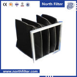 Aluminum / Galvanized Steel Activated Carbon Bag Filter