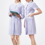Female Workwear Purple Color Cotton Hospital Uniform