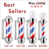 Classical Chrome Plated Barber Shop Pole (337)