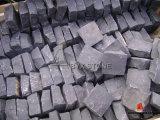 Natural Zhangpu Black Basalt Cubestone / Cobblestone for Outdoor