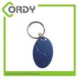 125kHz keyfob TK4100 T5577 ABS RFID keychain for ID