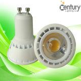 CE RoHS Dimmable GU10 85-265V COB LED Spot Light