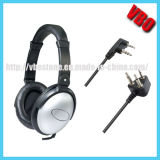 300 Ohms Noise Cancellation Headset with Dual Pin
