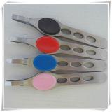 Stainless Steel Eyebrow Tweezers (VE15001)