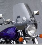 DOT Approved Transparent Universal Windshield Parts and Accessories for Motorcycle and Scooter