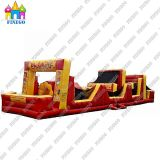 The Newest Design Adventure Run Obstacle Courses Inflatable Playland for Kids Play