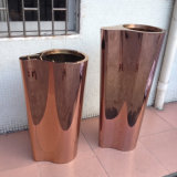 201 304 316 Metal Stainless Steel Flower Pots Wholesale Price