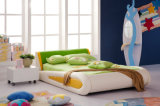 The Most Popular Modern Design Children Leather & Fabric Bed (HC002)