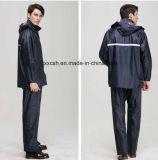 Military Polyester PVC Raincoat Poncho