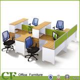Wooden Melamine High Quality New Design Workstation (CF-P10307)