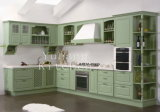 Solid Wood Kitchen Cabinet #141