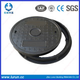 En124 A15 Class D600 Poly Resin Manhole Cover