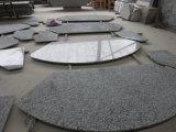 Spray White Granite Stone Countertop for Kitchen/Vanity