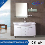 New Floor Mounted PVC Mirror Cabinet Bathroom