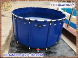 High Quality Plastic PVC Collapsible Round Frame Fish Tank