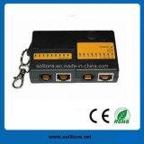 Mini RJ45/Rj11 Network Cable Tester (ST-CT4682B)
