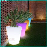 Rechargeable Vase Multicolor Floor Flower Pots with Lights