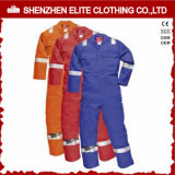 Cheap Safety Reflective Work Wear 100% Cotton Twill Coverall (ELTHVCI-21)