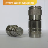 ISO 16028 Hydraulic Quick Coupling Flat Face Coupler Male+Female Part Nwp4 Series (stainless steel)