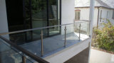 Deck Railing Systems - Deck & Porch Railings - Decking Glass Balustrade with Tempered Glass