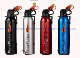 Dry Powder Fire Extinguisher Use for Car