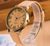 Hl-AG040 Top-Quality Alloy Luxury Watch, Genuine Leather Band