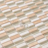 Stone and Crystal Glass Mosaic, Stone Mix Mosaic