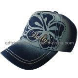 Wahsed Discharge Print Embroidery Leisure Baseball Cap Hat (TMB2001)