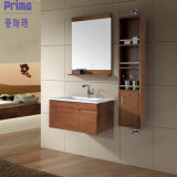 Wholesale Melamine Bathroom Cabinet with Mirror (PR-V4004)