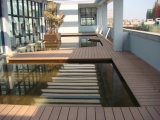 WPC Outdoor Flooring, Composite Decking, HDPE Decking (DH02A) 100X30A