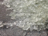 Super White Glass Rocks for Fireplace & Landscape & Square & Garden & River Decoration