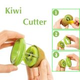 Fruit Cutter, Plastic Kiwi Cutter