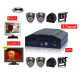Vehicle 4G Mobile DVR Recorder 8CH Car DVR GPS Camera System with 3G WiFi