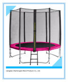 6FT Outdoor Trampoline with Inner Safety Enclosure