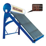 165L Integrative Pressurized Copper Coil Solar Power Water Heater System