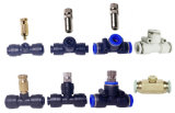Low Pressure Slip Lock 6mm 8mm Fine Fog Water Mist Spray Nozzle for Outdoor Cooling Disinfecting