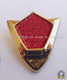 Customized Gold Plating 3D Glitter Lapel Pin (MJ-PIN-012)