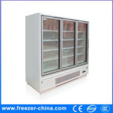 New Design Convenience Store Type Refrigerated Multideck Cabinet with Glass Door
