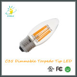 LED Candle Bulb C35 4W Torpedo Tip LED String Light