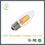 LED Candle Bulb C35 4W Torpedo Tip LED String Light