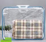 Custom Transparent Packaging Bags Cotton Blankets Blankets Packaging Bags